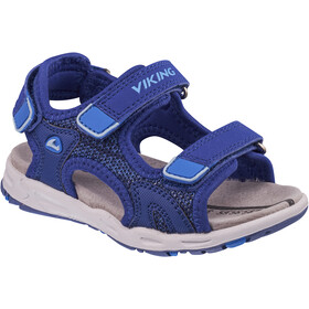 Viking Footwear Anchor II Sandali Bambino, dark blue/blue